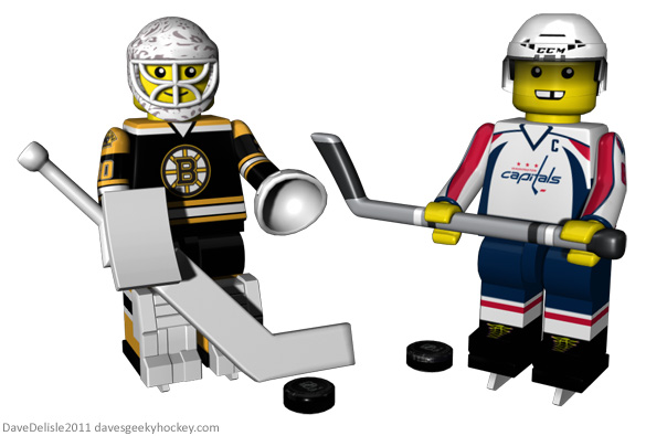 Lego Hockey Toys NHL Dave Delisle 2011 davesgeekyhockey.com