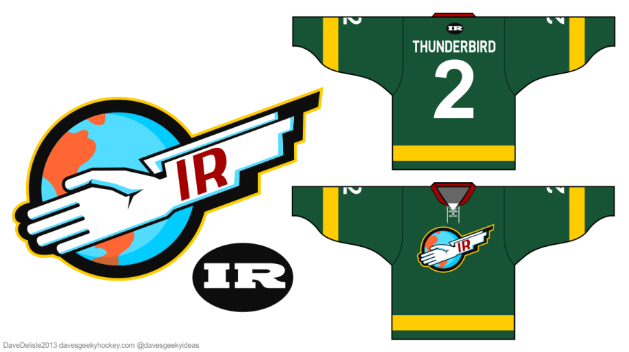 Thunderbirds Logo Hockey Jersey