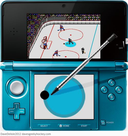 Nintendo 3DS Hockey Game 2012