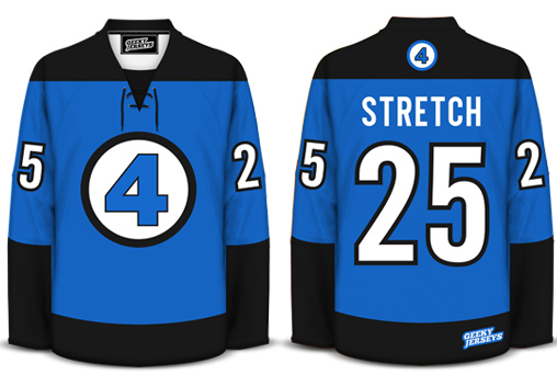 Fantastic Four Hockey Jersey Design
