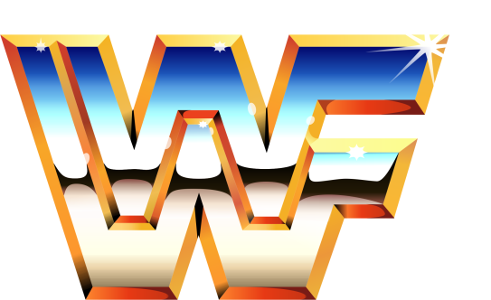 WWF Logo High-Res Large World Wrestling Federation 80's 90's