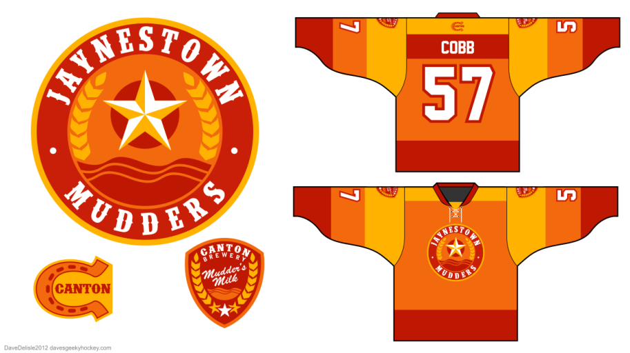 Jaynestown Mudders 1.0 Hockey Jersey