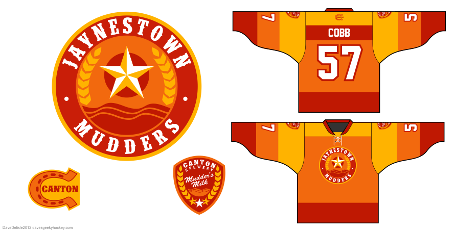 Mudders 1.0 hockey jersey by Dave Delisle