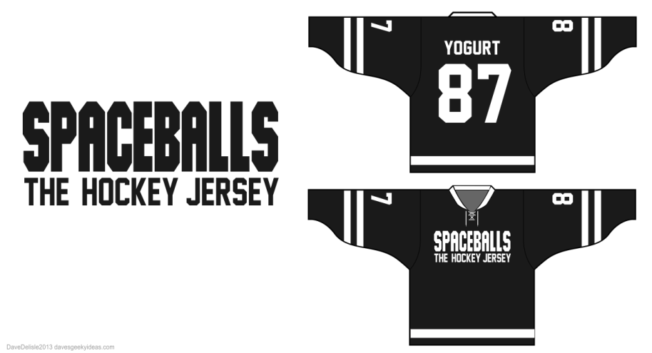 Spaceballs hockey jersey