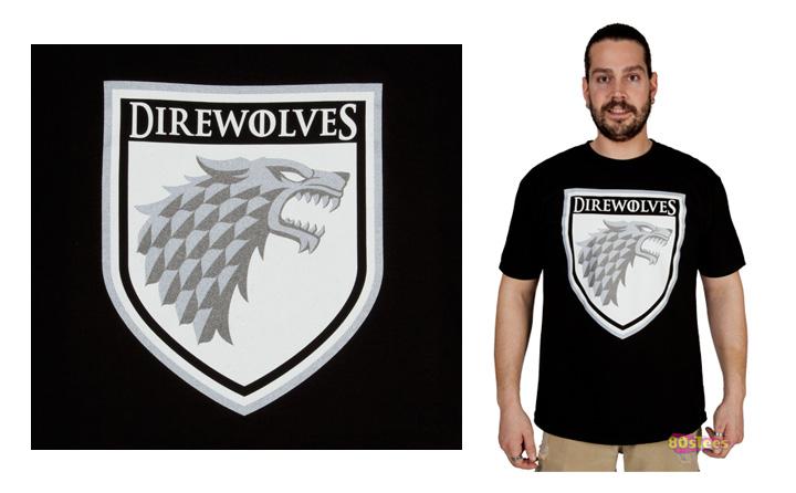 Direwolves Sigil T-Shirt 2013 Dave Delisle davesgeekyhockey.com 80's Tees