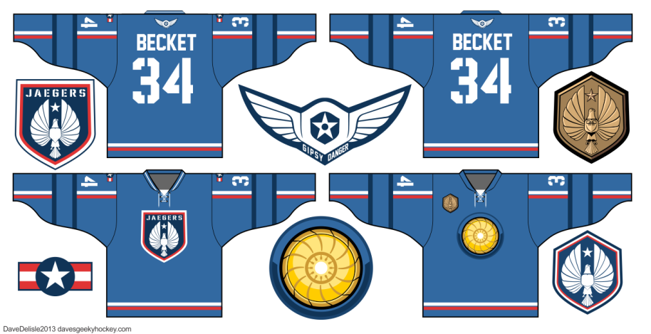 Pacific Rim Gipsy Danger Hockey Jersey