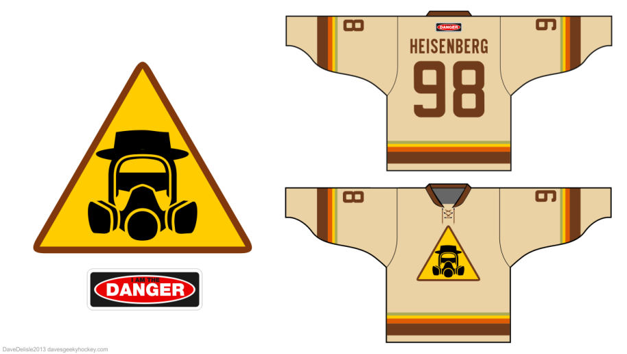 Breaking Bad Hockey Jersey
