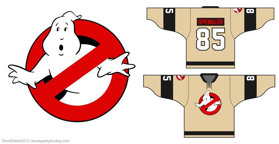 Busters 3 hockey jersey design by Dave Delisle
