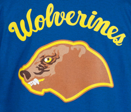 Wolverines Red Dawn 2013 Dave Delisle 80's Tees