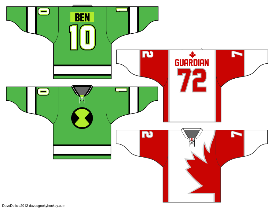 Alpha Flight Hockey Jersey