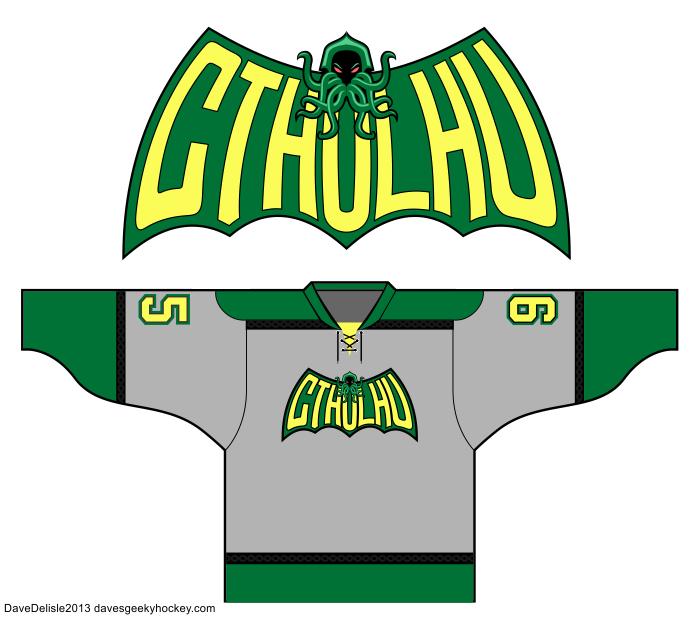 Cthulhu Logo BATMAN