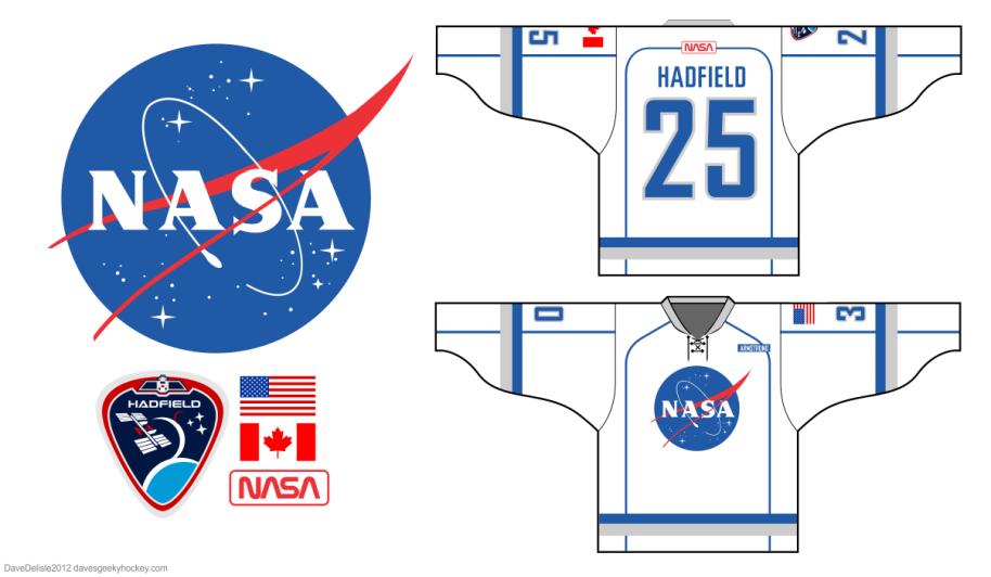NASA Hockey Jersey Design