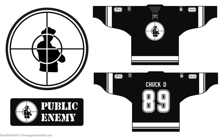 Public Enemy Hockey Jersey
