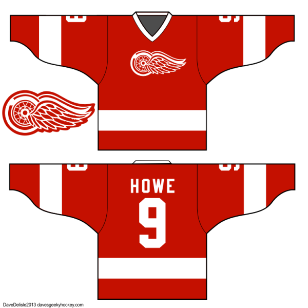 Ferris Bueller Cameron Detroit Red Wings Jersey