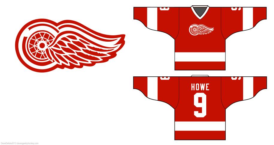 Ferris Bueller Red Wings Jersey by davesgeekyideas