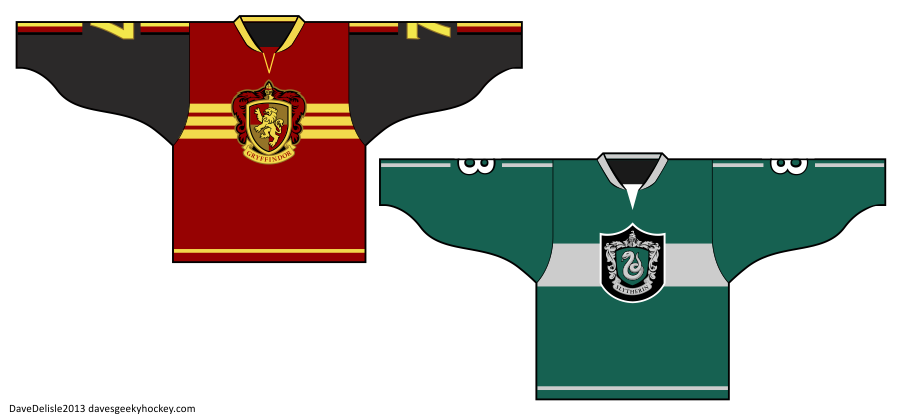 Quidditch Hockey Jerseys 2013 Harry Potter