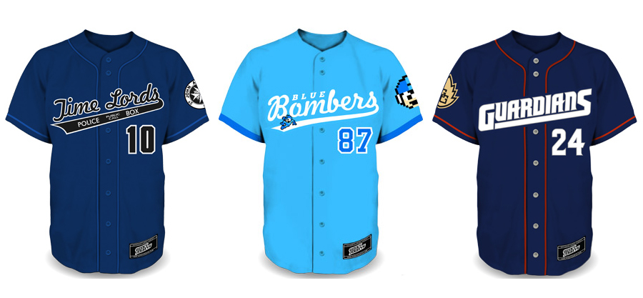 Geeky Baseball Jerseys