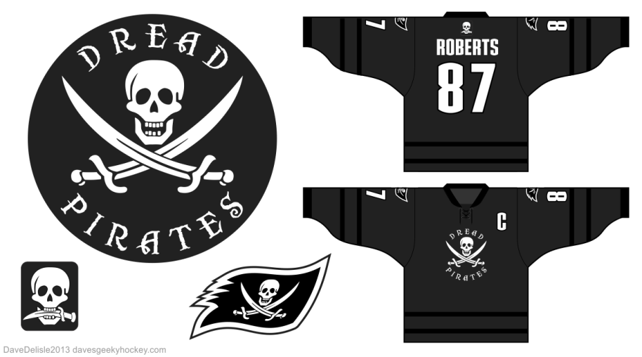 Dread Pirates Hockey Jersey