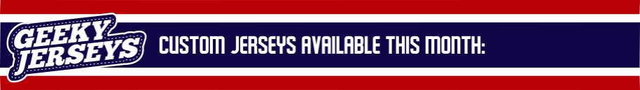 Custom Geeky Hockey Jerseys