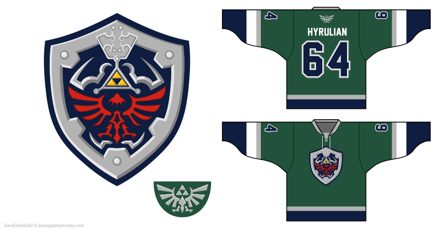 Link 3.0 hockey jersey by Dave Delisle