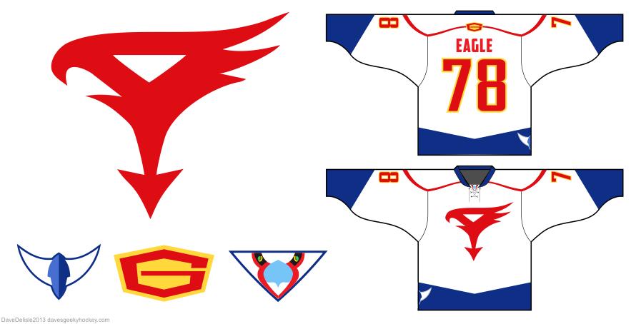 gatchaman hockey jersey by Dave Delisle