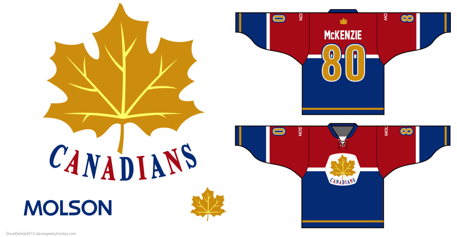 Molson Great White North Hockey Jersey Design
