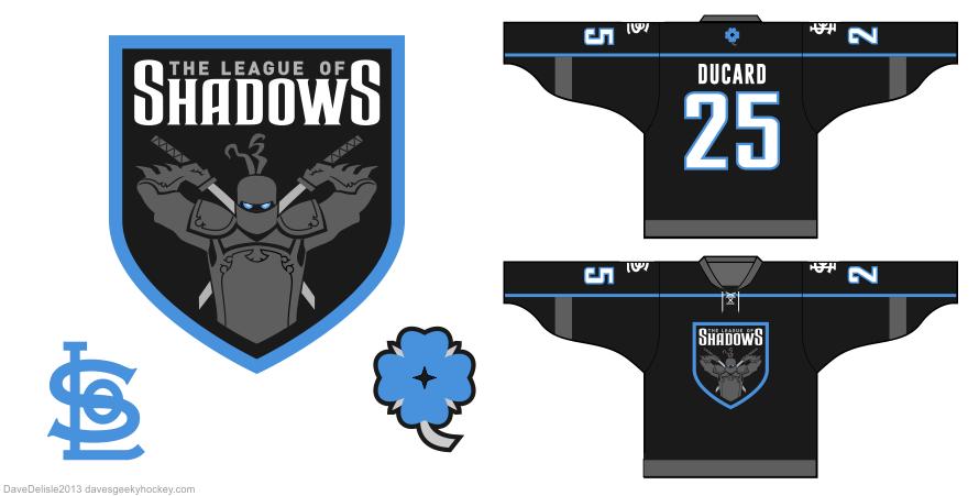 League of Shadows logo by Dave Delisle