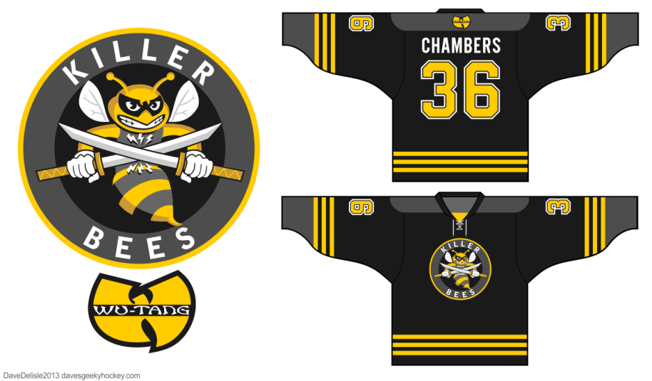Wu-Tang Hockey Jersey Sports