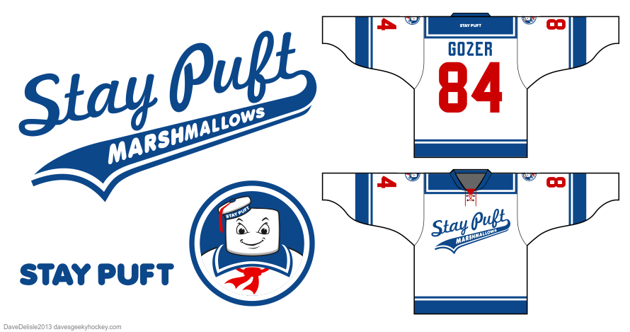stay puft jersey design by Dave Delisle