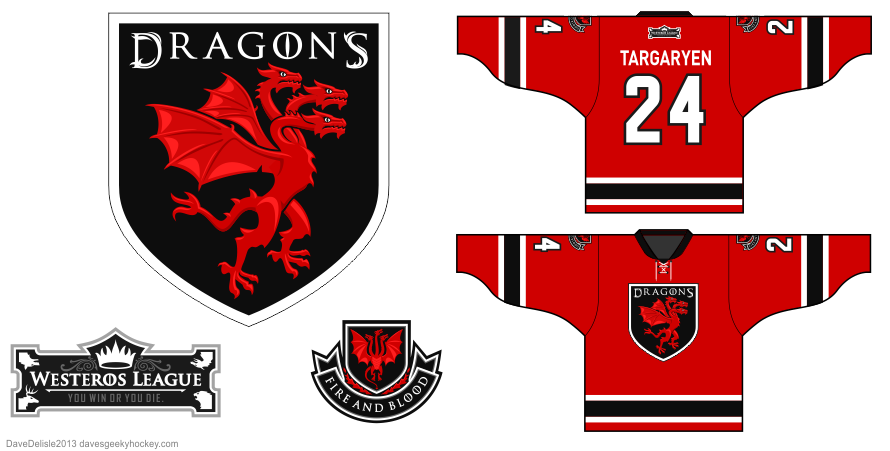 Targaryen 3 by Dave Delisle