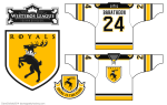 House Baratheon Sigil Hockey Jersey