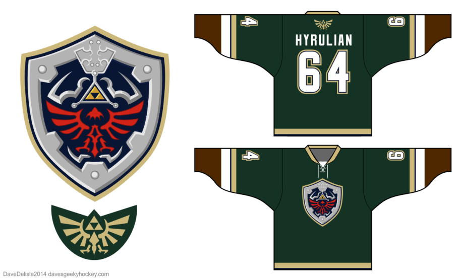 Link 4.0 Hockey Jersey Zelda