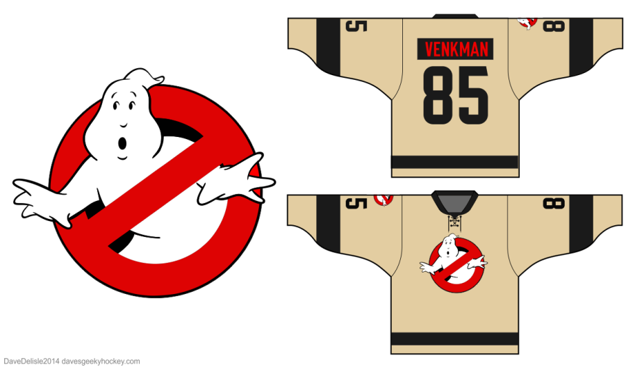 Busters 4.0 Hockey Jersey Design