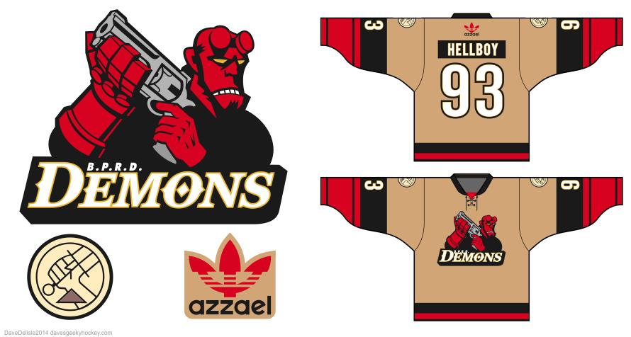 Hellboy-BPRD-Demons-hockey-jersey-design-2014-dave-delisle-davesgeekyhockey