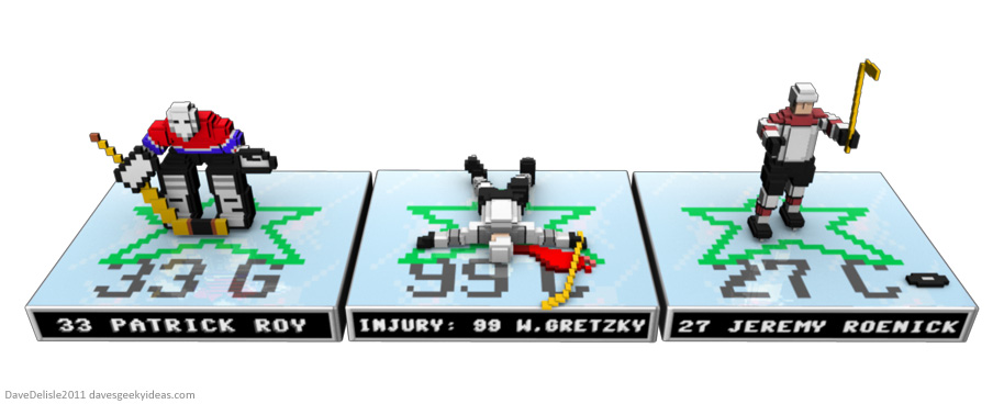 EA NHL 16-bit figurines