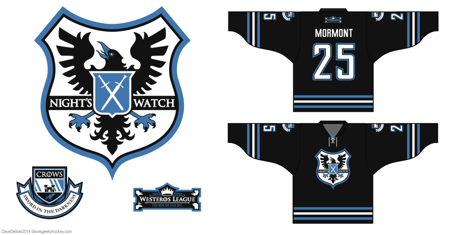 Might's Watch 2.0 hockey jersey design