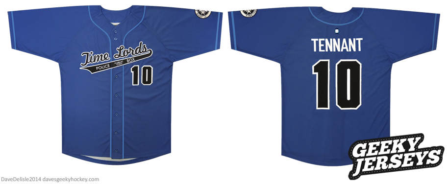 Time Lords Baseball Jersey