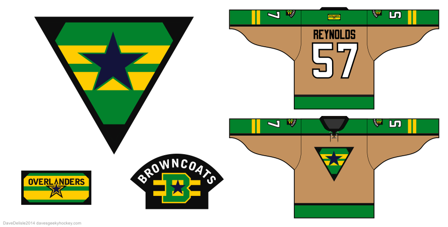 Browncoats hockey jersey by Dave Delisle
