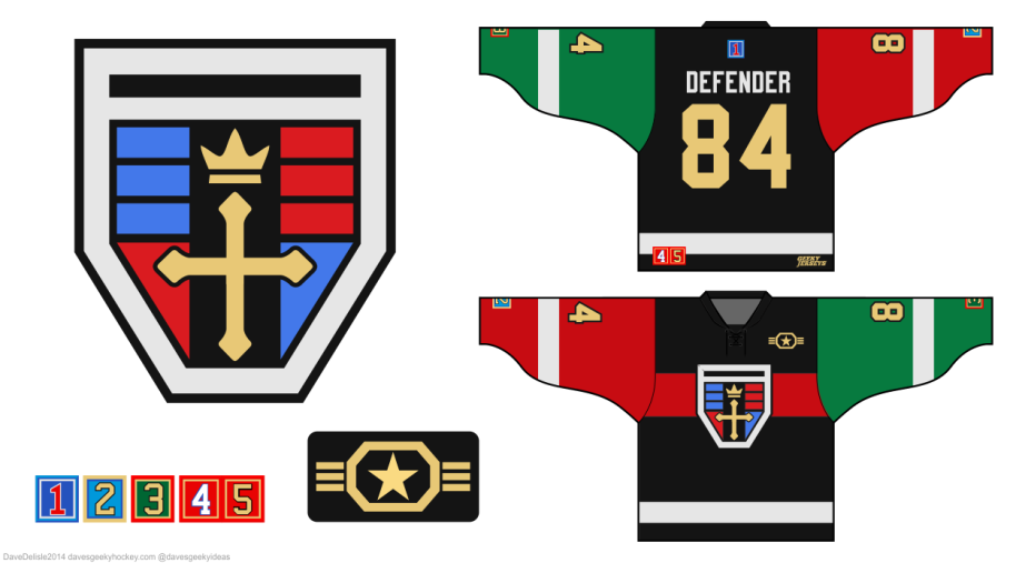 Voltron Hockey Jersey 2014