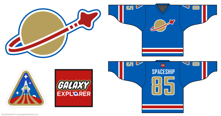 Galaxy Explorer Hockey Jersey