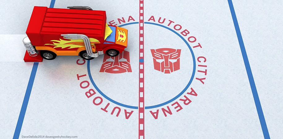 NHL Transformers by Dave Delisle