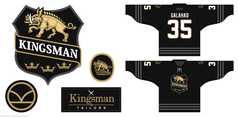 Kingsman Secret Service logos by davesgeekyhockey