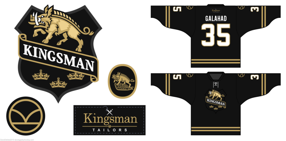 Kingsman Secret Service logos by davesgeekyhockey