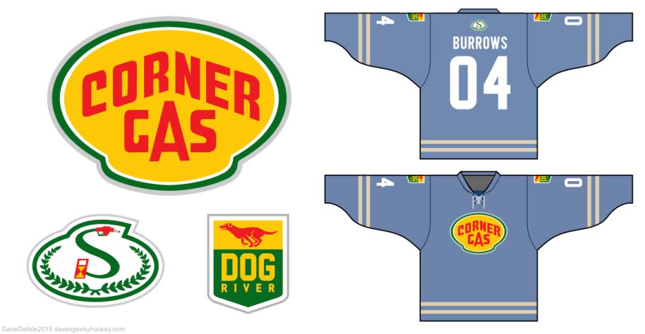 Corner Gas Hockey Jersey by davesgeekyideas