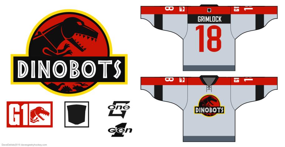 Dinobots Jurassic Park G1 by Dave Delisle