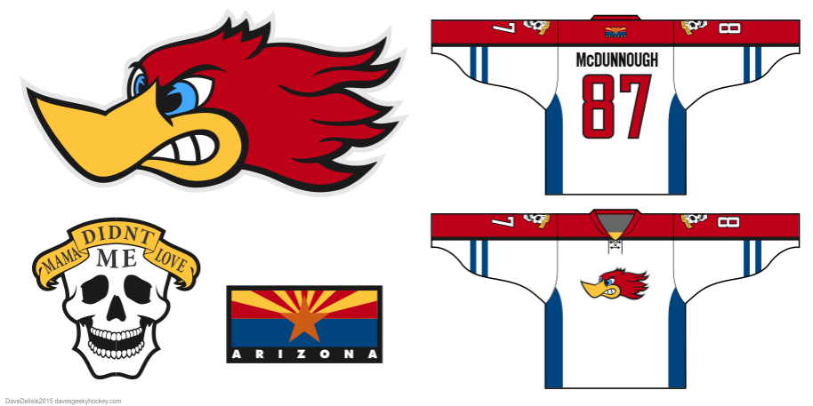 Raising Arizona logo by Dave Delisle