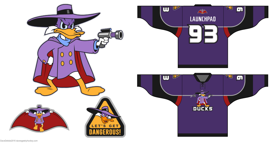 Darkwing Duck logo by Dave Delisle