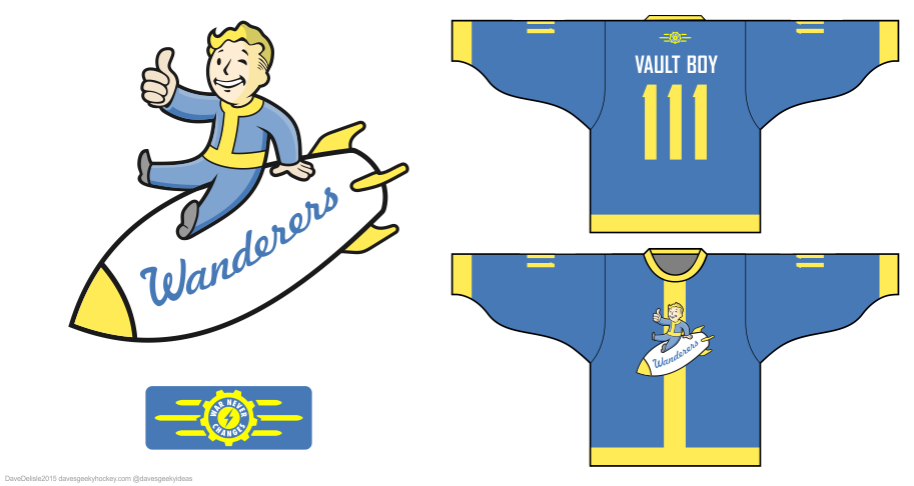 Fallout hockey jersey by davesgeekyideas