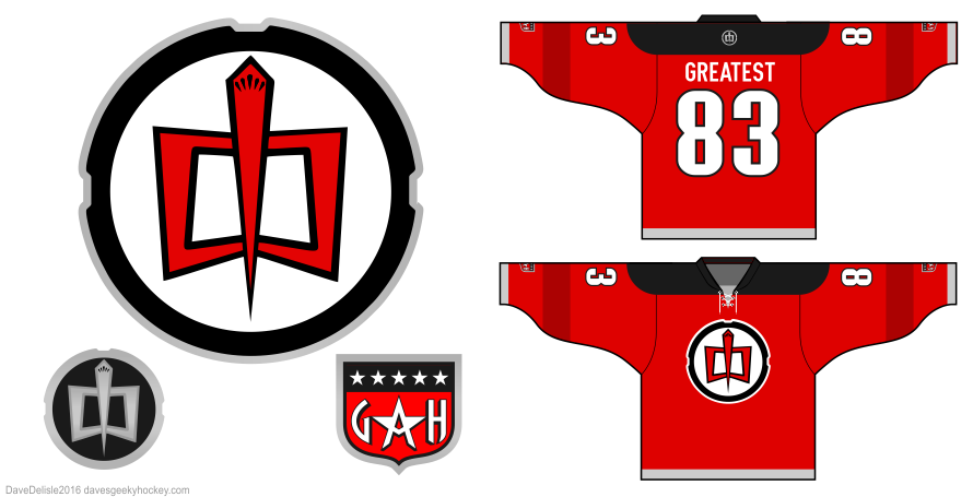 GAH Greatest American Hero hockey jersey design by dave delisle davesgeekyhockey