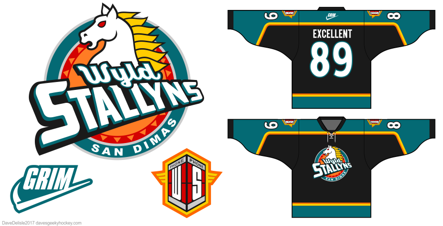 Bill and Ted jersey by Dave Delisle
